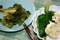 漬け物と温野菜。(23.1.27)