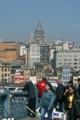ガラタ橋から新市街を望む。(イスタンブール)(23.3.28)