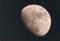 「卯月十一日」のお月さま。(23.5.13)(18:46)