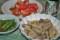 「ネマガリダケ」と「鯖缶」の味噌煮。(23.6.23)