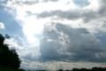 暗雲が現われ、急な雷雨に…。(23.8.8)