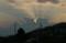 日光に、縁どられた「入道雲」。(23.9.14)
