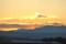 夕焼け雲。(24.2.20)
