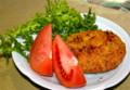 コロッケに、「ワサビ菜」。(