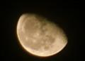 「長月二十一日」のお月さま。(24.111.4)(22:08)