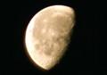 昨夜、「神無月二十一日」の残月。(24.12.5)(6:26)