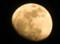 輝き始めた「正月十三日」のお月さま。(25.2.22)(18:16)