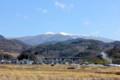 上田・小県のシンボル「烏帽子岳」。(25.3.4)