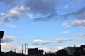 西方面にも、青空が…。