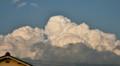 東の空に沸き立つ@入道雲」。(25.5.21)