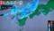 レーダー雨雲の動き予想図。(25.7.3)
