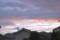 東の空には、朝焼け雲が…。(25;9;2)(4:56)