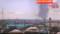 テレビ画面、埼玉県越谷の突風。(25.9.2)