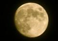見事な「十三夜」のお月さま。(25.10.17)(18:17)