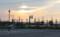 雲間から漏れる夕日。(25.10.31)(16:05)