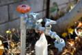 修理を頼んだ、井戸端の水道・蛇口。(25.11.19)