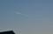 一筋の「飛行機雲」。(25.11.23)(16:31)