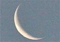 「臘月二十八日」のお月さま。(26.1.28)(6:45)