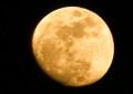 ほんのり、美しい「十三夜」のお月さま。(26.2.12)(18:07)