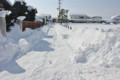 除雪が進まない、生活道路。(26.2.17)