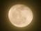 うす雲にほんのり輝く「正月十八日」の月。(26.2.17)(22:20)