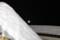 屋根の積雪の上に、お月さまが…。(26.2.18)(4:14)