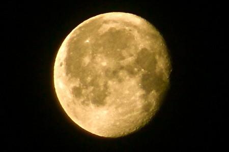 昨夜・正月十八日の残月。(26.2.18)(4:16)