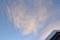 うす雲に朝日が…。(26.2.19)(6:34)