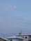 西空高く、「正月十九日」の残月が。(26.2.19)(6:34)