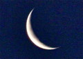 「弥生二十七日」のお月さま。(26.4.26)(4:35)