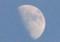 「卯月十日」のお月さま。(26.5.8)(18:24)