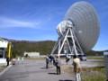 直径64メートルのパラボラアンテナ。(26.5.11)