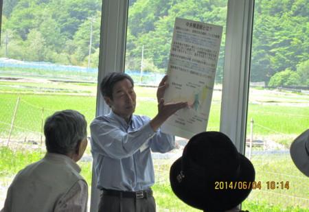 中央構造線博物館の見学。(26.6.4)