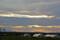 中部横断道路上空に棚引く雲。(26.8.21)(17:58)