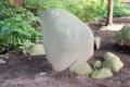 別の「月輪石」。(望月・城光院)(26.9.7)