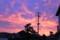 素晴らしい朝焼け雲(26.9.15)(5:27)