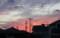 西空には、夕焼け雲が…。(26.9.15))