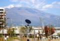 のどかな姿を見せる「浅間山」。(26.10.19)