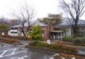 雨中、図書館の周りは、冬景色。(26.11.26)