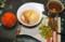 朝食は、簡単な「お雑煮」。(27.1.1)