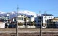 新年、白銀の「浅間山」。(27.1.2)