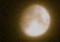 雪雲を透かして、「霜月十二日」のお月さま。(27.1.2)(21:59)