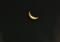 東の空に、「霜月二十七日」のお月さま。(27.1.17)(4:32)