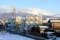 浅間山には、まだ雪雲が…。(27.1.18)