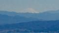 白雪の富士山を遠望。(27.3.27)