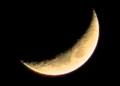 「弥生五日」のお月さま。(27.4.23)(18:54)
