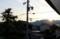 山の端に、日の出。(27.5.18)(5:12)