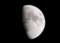 「卯月十日」のお月さま。(27.5.27)(19:35)