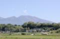 「浅間山」は夏の色、白煙。(27.5.30)