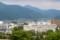 「松本城・天守六階」から「美ヶ原」方面を見る。(27.6.11)